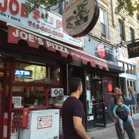 Photo taken at The Best Joes Pizza of Park Slope by Lindsay S. on 6/8/2016