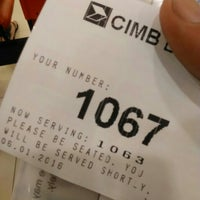 Photo taken at CIMB Bank by Akram A. on 1/6/2016