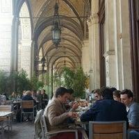Photo taken at Café Einstein by Lorena A. on 10/4/2012