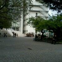 Photo taken at Faculdade de Ciências Sociais e Humanas da Universidade Nova de Lisboa by Raquel I. on 5/27/2013