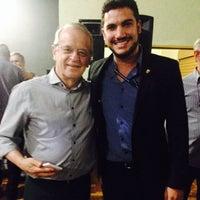 Photo taken at Clube 7 de Setembro by Felipe D. on 5/14/2014