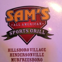 Photo taken at Sam's Sports Grill by Elizabeth E. on 11/15/2012