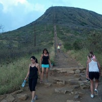 Photo taken at Koko Head Crater Trail by VanTasstik on 6/15/2013