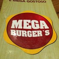 Photo taken at Mega Burger's by Casal Gourmet on 5/1/2013