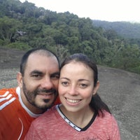 Foto tirada no(a) Mirante da Pedra Grande por Rodrigo M. em 6/22/2014