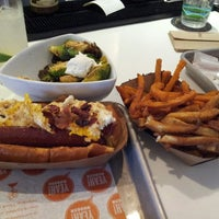 Photo taken at YEAH! Burger by Tracy M. on 5/12/2013
