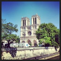 Photo taken at Cathedral of Notre Dame de Paris by Stefan on 6/7/2013
