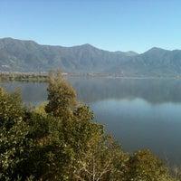 Photo taken at Peninsula del León, Aculeo by Meli V. on 9/22/2012