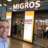 Photo taken at Migros by Eray E. on 7/11/2017