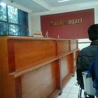 Photo taken at Bank Nagari PKM Unand by Apriyandi &. on 1/3/2013