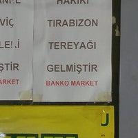 Photo taken at Banko Market by Gamze K. on 1/25/2017