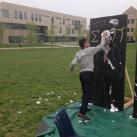 Photo taken at USI Quad by Erik B. on 4/23/2013