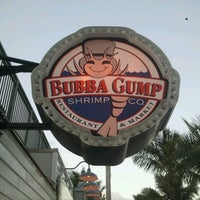 Photo taken at Bubba Gump Shrimp Co. by Paul S. on 10/11/2012