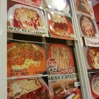 Photo taken at Amina Pizzeria by Jae Woo K. on 10/9/2013