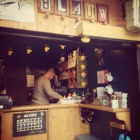 Photo taken at BLAUW ESPRESSO by Takahiro M. on 12/30/2014
