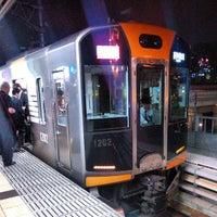 Photo taken at Hanshin Amagasaki Station (HS09) by たろちゃん on 4/18/2013