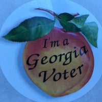 Photo taken at Rockdale County Board of Elections by Jay F. on 10/21/2016