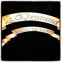 Photo taken at Tango Show La Ventana by Rogerio M. on 2/7/2013