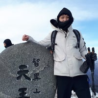 Photo taken at 천왕봉 (Chunwang Peak/天王峰) by 정호 조. on 1/30/2018