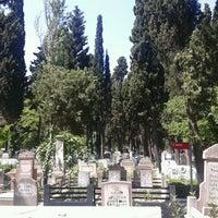 Photo taken at Feriköy İslam Mezarlığı by Nuri K. on 5/16/2013