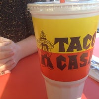 Photo taken at Taco Casa by Mark D. on 12/11/2012