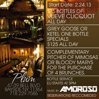 Photo taken at Plum Restaurant Bar & Lounge by DJ AMOROSO on 2/24/2013