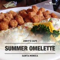 Photo taken at Jinky's Cafe Santa Monica by Rey F. on 5/26/2013