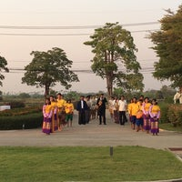 Photo taken at Sukhothai Heritage Resort by Coco_oreo 2. on 2/11/2017