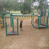 Photo taken at Barton Springs Playground by Amber on 10/6/2016
