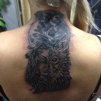 Photo taken at Bobi Tattoo InkS by Dina M. on 10/31/2015