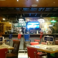 Photo taken at Bubba Gump Shrimp Co by Majid on 12/1/2014