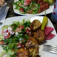 Photo taken at lusy's Mediterranean Cafe and Grill by Jon S. on 6/17/2014
