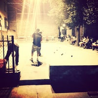 Photo taken at Little Italy Bocce Court by Jon E. on 8/30/2013