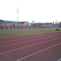 Photo taken at Stadion Maesa Tondano by Cynthia 'Tayu' T. on 11/20/2013