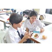 Photo taken at Wat Noi Noppakhun School by Sornchai I. on 11/13/2015