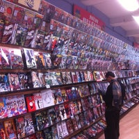 Photo taken at Midtown Comics by Thomas C. on 3/10/2013