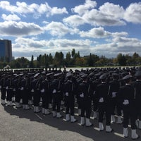 Photo taken at Ankara Eski Hipodrum/AKM by Uğur K. on 10/29/2015