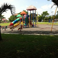 Photo taken at Taman Sea Playground by Rin M. on 10/17/2013