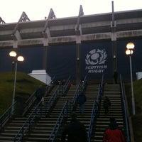 Foto tirada no(a) Murrayfield Stadium por Boyana A. em 12/29/2012
