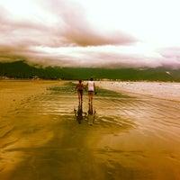 Photo taken at Praia Porto Novo by Filipe D. on 1/19/2013
