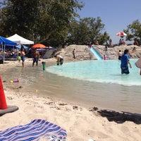 Photo taken at South Lake Beach Club by Jon P. on 7/4/2014