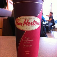 Photo taken at Tim Hortons by Heather C. on 10/17/2012