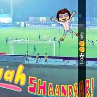 Photo taken at Shahaji Raje Krida Sankul (Andheri Sports Complex) by Mayur K. on 12/11/2017