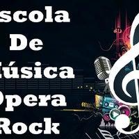 Photo taken at Escola Opera Rock by Erica R. on 7/17/2013