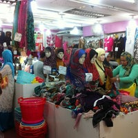 Photo taken at Muaz Textile by __a.nje on 3/8/2013
