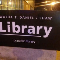 Photo taken at DC Public Library - Watha T. Daniel/Shaw by J V. on 12/15/2012
