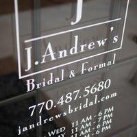 Photo taken at J Andrews Bridal by Rosie on 4/30/2013