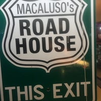 Photo taken at Macaluso's Roadhouse by Mark S. on 12/24/2017