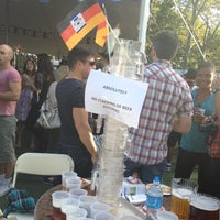 Photo taken at Oktoberfest In Central Park by Brinlea S. on 9/15/2012