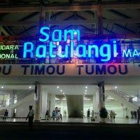 Photo taken at Sam Ratulangi International Airport (MDC) by Fernando Y. on 6/15/2013